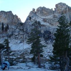 High Sierra camp